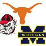 Dawgs out, U Texas out, U of michigan basketball out