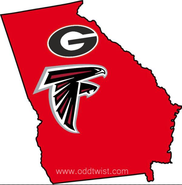 UGA, Falcons Mixed Bag December 2019